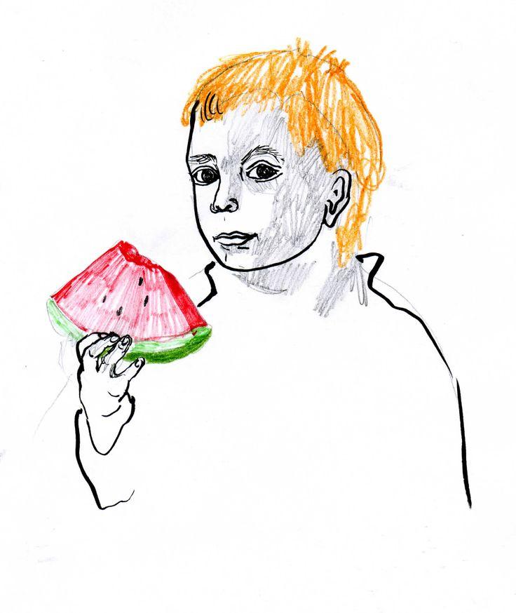 my son, illustrate, 2011, http://www.elizadanowska.pl/