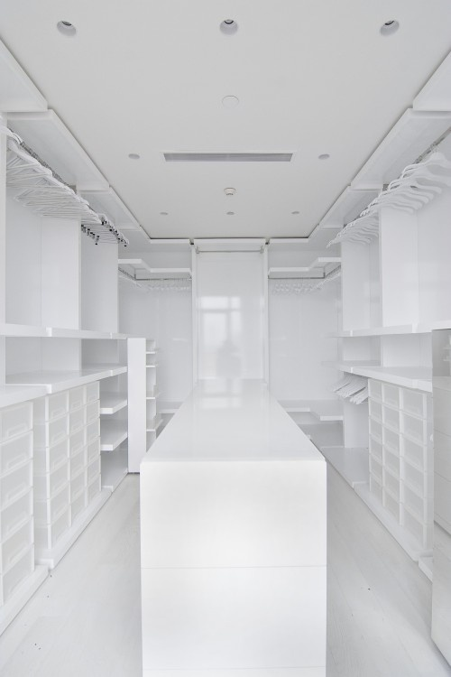 Modern Closet Sloped Ceiling Design Pictures Remodel Decor And Ideas