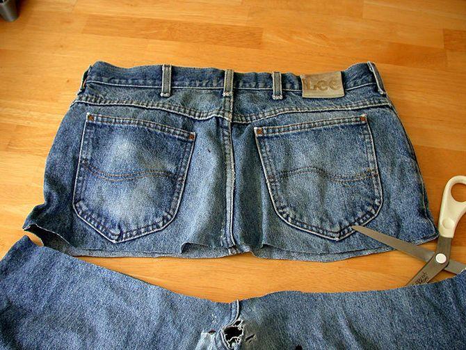 Como Transformar uma Calça Jeans em Bolsa: 13 Passos                                                                                                                                                                                 Mais