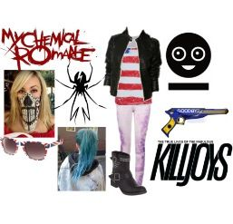 Polyvore Killjoy Clothes Pinterest Killjoys