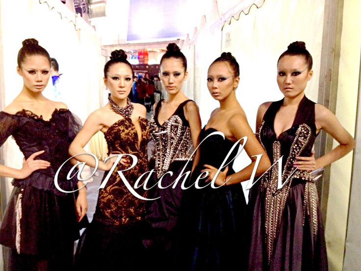 Make Up coordination by Rachel W for AAA Ignight Revamped collection at Fashion Asia Award in Chengdu Sichuan, China.