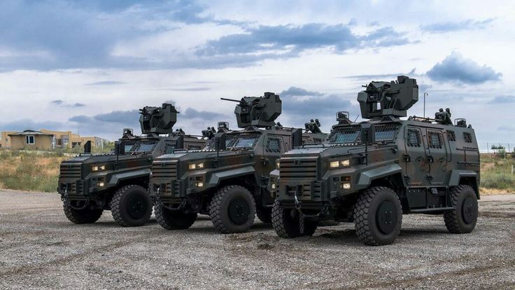 Nurol Machine ~ { Dragon Yalcin } ~4x4 APC high-security , Turkish Defence Industries