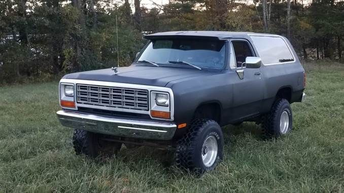 1984 318 Auto In Winchester Nh In 2020 Dodge Ramcharger Dodge Winchester