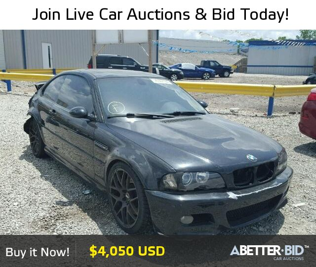 Salvage  2002 BMW M3 for Sale - WBSBL93412JR13701 - https://abetter.bid/en/26367196-2002-bmw-m3