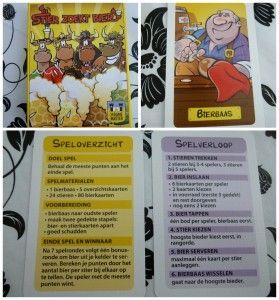 Stier zoekt bier kaartspel the game master pils recensie