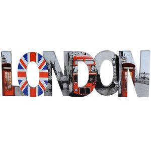London-Themed Bedroom Decor...want to make this but Tokyo instead of London