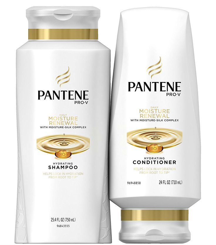 PANTENE Pro-V Daily Moisture Renewal Shampoo and Conditioner Set -- Click image to review more details.