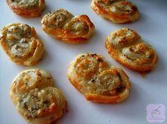 Palmeras de queso y tomillo | Cocina