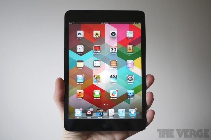 iPad mini review http://vrge.co/PFQvnS