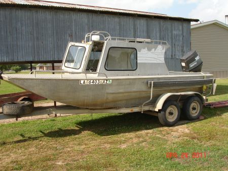 aluminum boat with cabin cuddy cabin for sale in lafayette