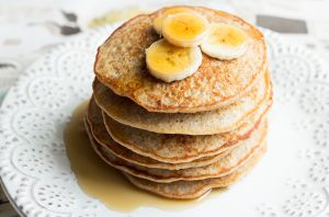 quinoa banana pancakes