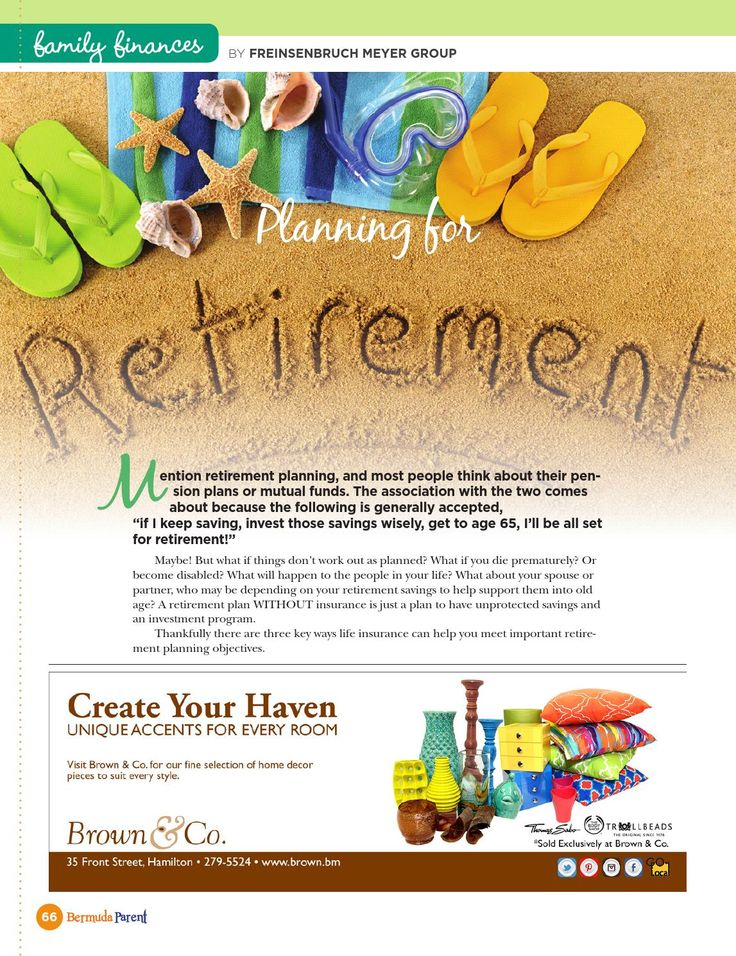 Planning for Retirement  #BermudaParent