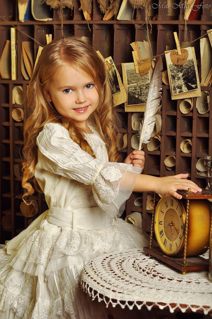 "Anastasia Orub (born May 15, 2008) Russian child model. Photo be Rina (""MUR-MUR FOTO"")"