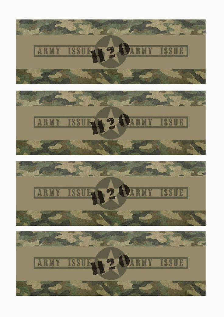 free printable camo baby shower invitations templates%0A Great Fun etc  Army Party Prep  Stencil Tutorial  u     Free Printables