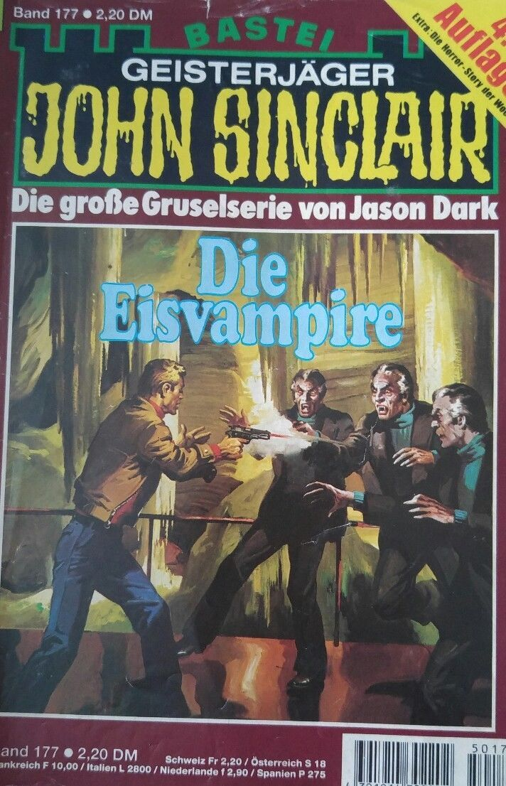John Sinclair Geister Jäger die Eis Vampire Band 177/ 127 Bastei Verlag | eBay
