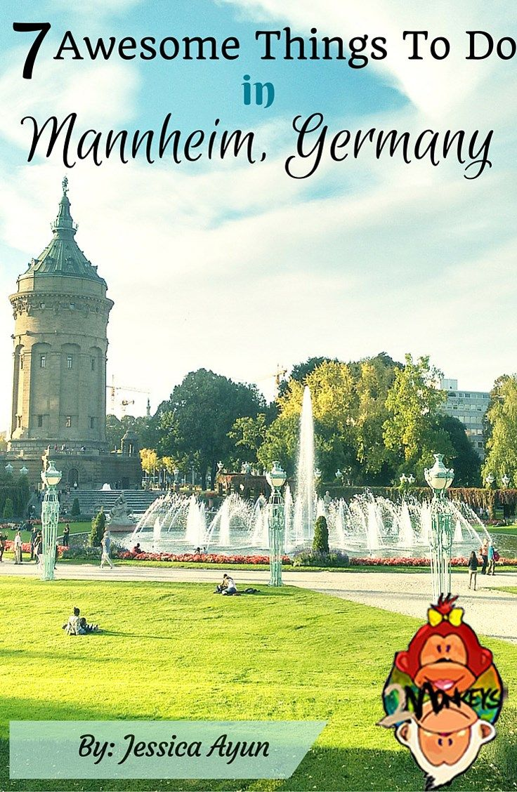 7 Awesome Things To Do in Mannheim, Germany Pinterest
