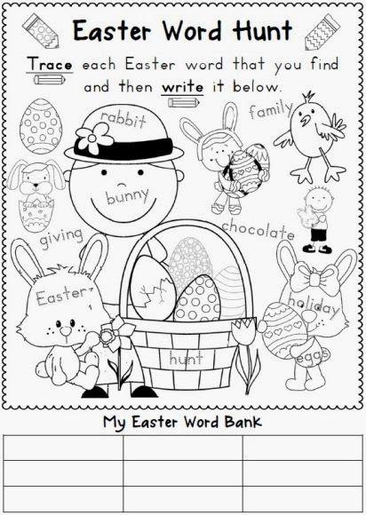 98 best easter in kindergarten images on pinterest easter easter easter ideas including easter resource bundle for k 1 negle Image collections