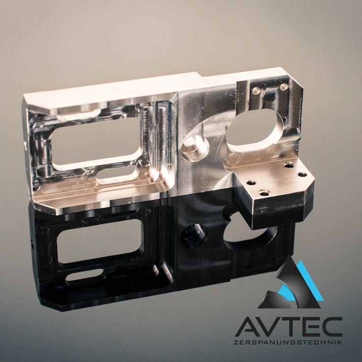 CNC milling machine parts by AVTEC Zerspanungstechnik e.K.