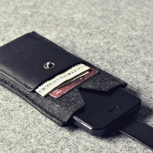 Leather Zip Around Wallet - mahal kita 4 by VIDA VIDA 7Vguzfp