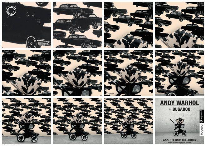 バガブー×アンディ・ウォーホルの限定ベビーカー 全世界で5月発売   Fashionsnap.com