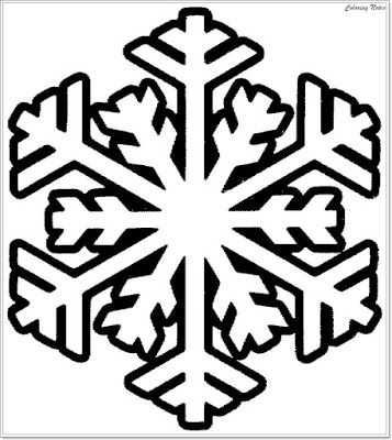 winter snowflake coloring pages for printable easy winter snowflake coloring page christma