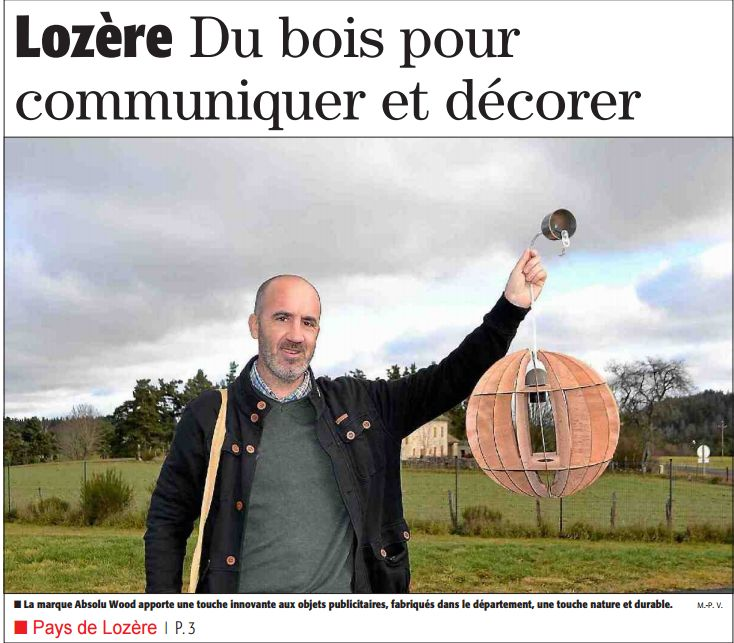 Absolu Wood - Midi Libre - dec 2015