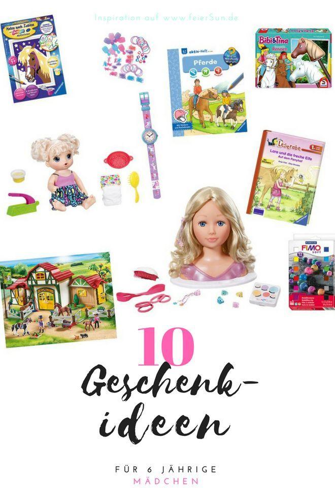 Inspiration auf feierSun.de // 10 Geschenkideen für 6 jährige hab ich heute gemeinsam mit meiner Tochter als Wunschzettel für Weihnachten zusammengetragen. Geschenktipps für Geschenke für den Wunschzettel zu Weihnachten