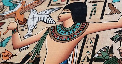 Podle různých pramenů exituje dokonce i horoskop egyptský. Nevyskytují se v něm však zvířata, ani různá obvyklá znamení, ale přímo samotní egyptští bohové.
