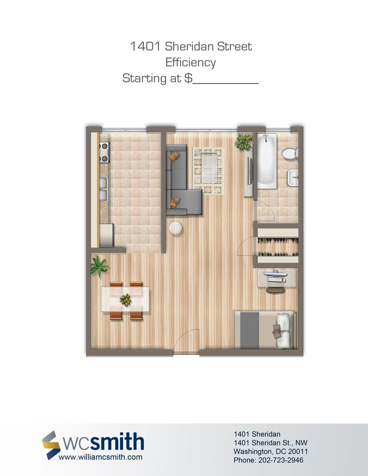 1401 SHERIDAN ST. N.W. Washington DcFloor PlansApartments