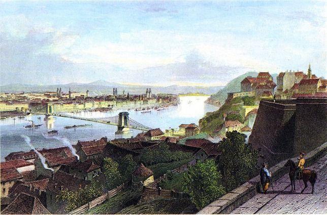 Budapest,   a   kiegyezés  idejében,   1860