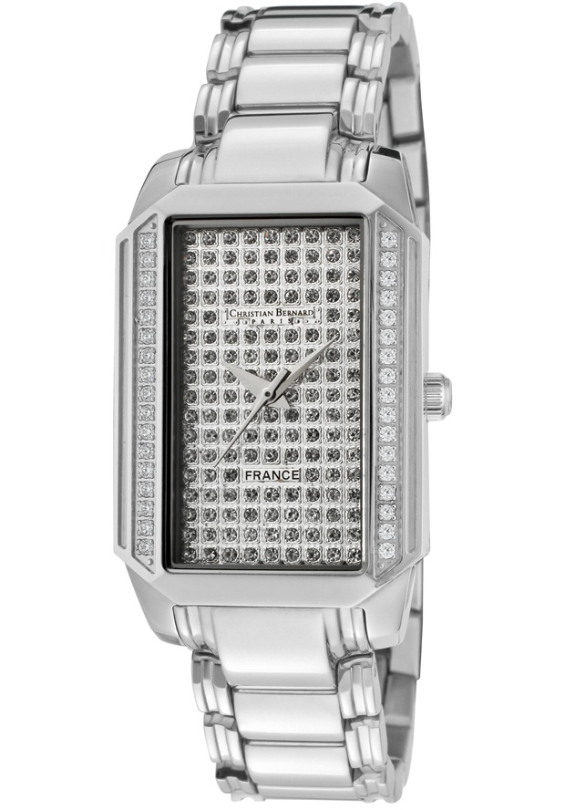 Price:$176.79 #watches Christian Bernard NA599ZAW, Contemporary with a jewellery spirit which frames time, immortilizing exceptional moments.