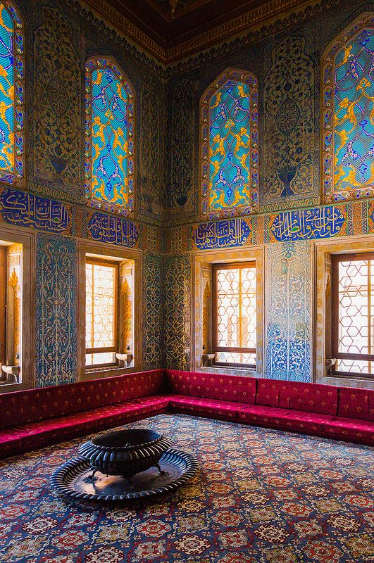 The Circumcision Room in Topkapi Palace at Istanbul, Turkey