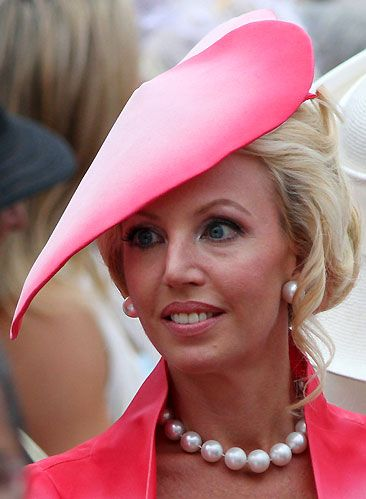 Princess Camilla, Duchess Of Castro at the Prince's Palace for the religious marriage ceremony on 2 July 2011