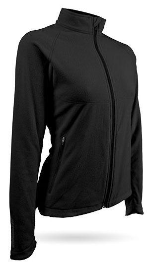 Sun Mountain® Golf Fleece Jacket - Black - Golfwear Store