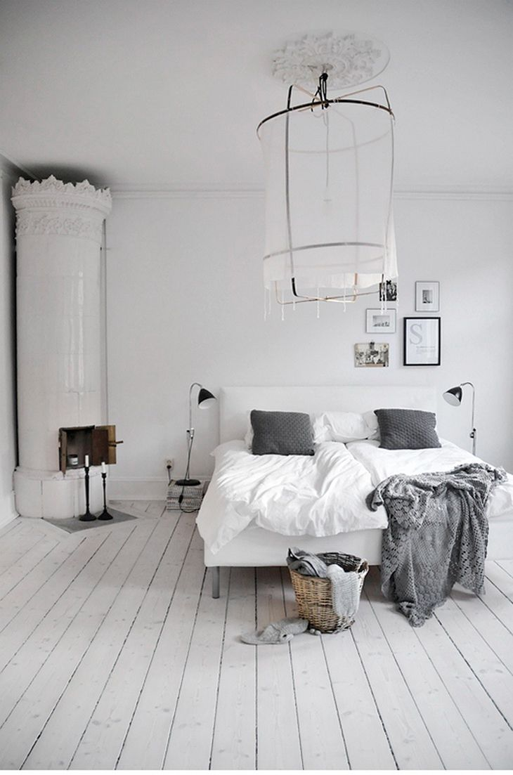 10 dreamy bedrooms ~ Like the chimney here, but only functional.