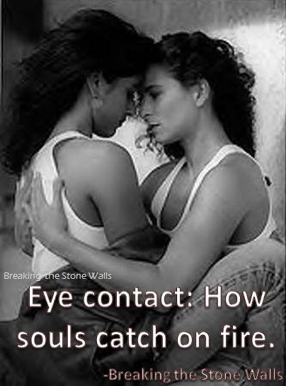 Lesbian Eye Contact 78