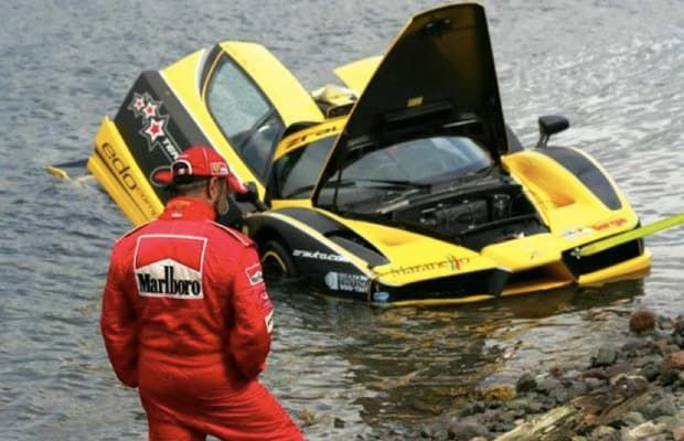 Enzo Water - 25 Incredibly Bizarre Car Accident Photos | Complex