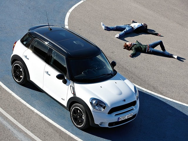 Mini Cooper S Countryman - see you in 2013 - gas prices are killing me !