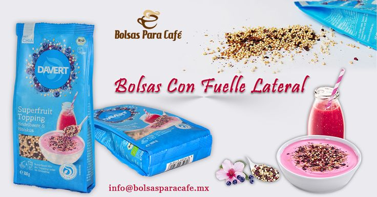 The #Bolsasconfuellelateral are one of the more traditional forms of packed, this type of #bolsaes mainly used for packaging of products such as #coffee,