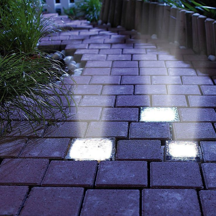 Signstek Solar Powered Path Brick Paver Light - Easy installation: you can just sit it there, or you can cover it underground and make sure solar panel is paralleled with earth, which will enable you to save space. Stays on all night, no motion detection needed. Made of toughened/Tempered glass (not plastic)