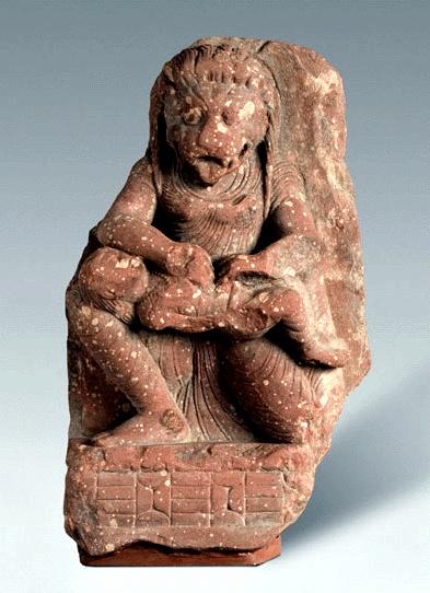 Narasimha (Man-Lion), an Avatar of Vishnu The Philadelphia Narasimha Uttar Pradesh, Mathura, 3rd-4th c.