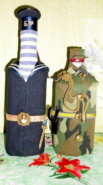 украшения на бутылки в форме - Поиск в Google