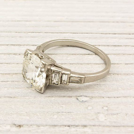 Old European Cut Diamond: Diamond Engagement Rings, 2 02 Carat, European Cut Diamonds, Vintage Rings, Diamonds Rings, Erstwhil Jewelry, Dreams Rings, Diamonds Engagement Rings, Vintage Style