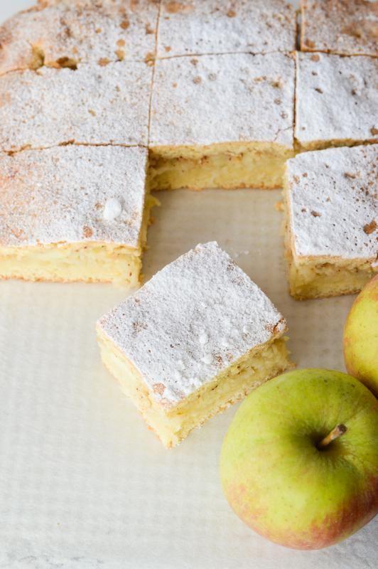 Przepis na ciasto z jabłkami. Szybkie ciasto z jabłkami. Kruche ciasto z jabłkami.