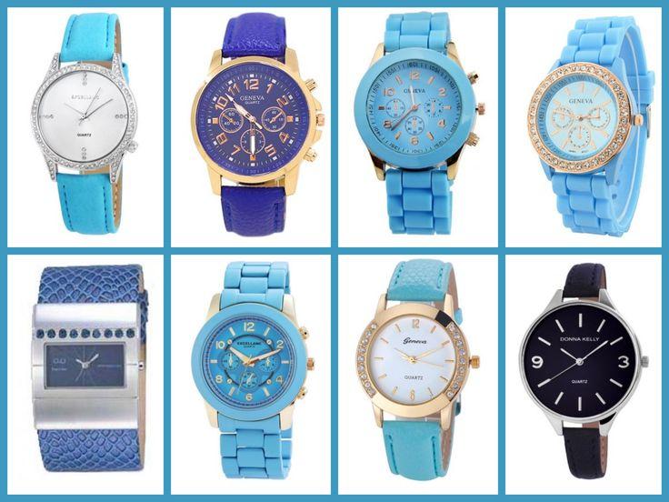 A kék 50 árnyalata! A kék szín kiváló választás a nyáron, ha nem akarsz feketét viselni, de ragaszkodsz a sötétebb színű kiegészítőkhöz.