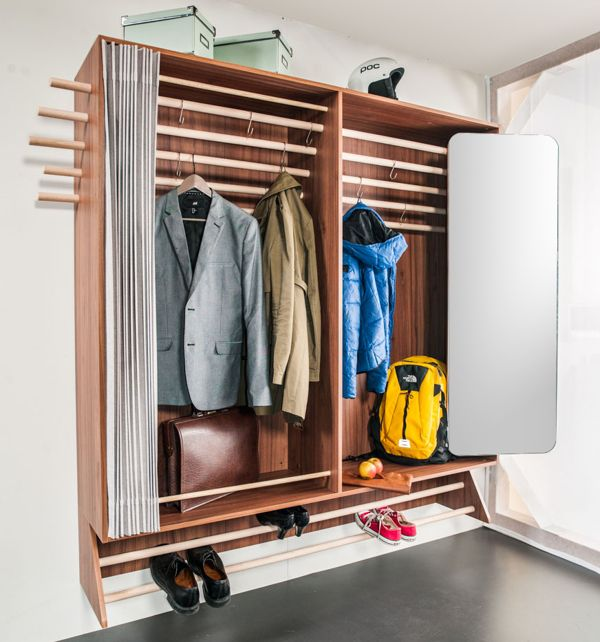 A Wardrobe For A Narrow Hallway Livinginashoebox Com