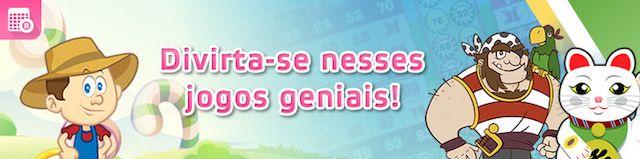 Jogar bingo online com bônus de cadastro