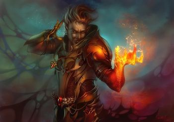Dungeons And Dragons mages casting | Wild Mage (3.5e Prestige Class) - Dungeons and Dragons Wiki