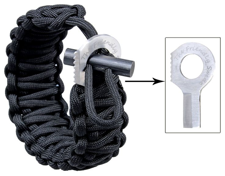 Paracord Survival Bracelet - Best gear and gadgets for men. The place to find cool stuff for guys.