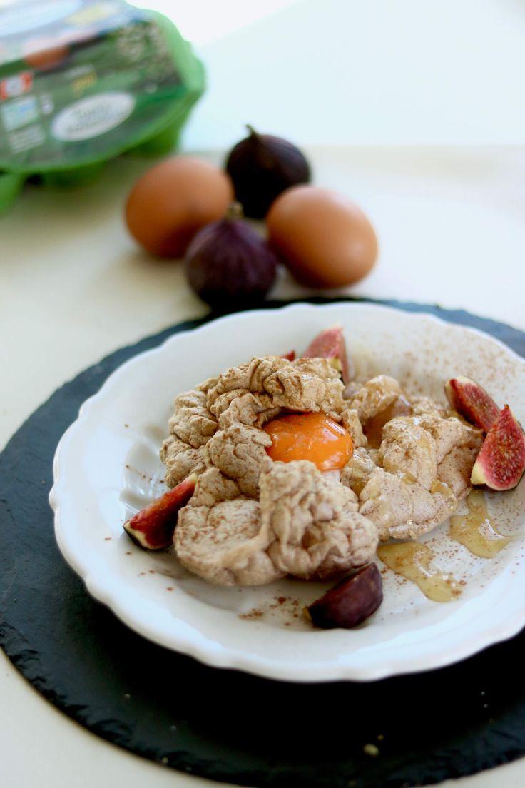 Wolken Ei - Cloud Egg - Frühstücks Idee Variation mit Ei - Toll zu Ostern